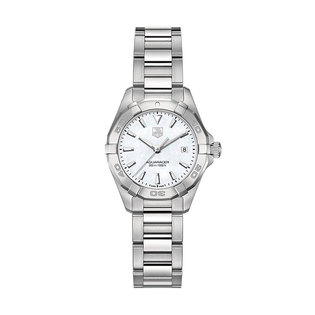 TAG Heuer Ladies stainless steel Aqua Racer quartz date watch