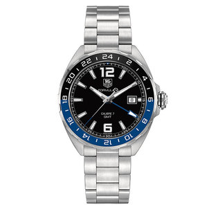 TAG Heuer Gents stainless steel automatic Formula 1 GMT watch