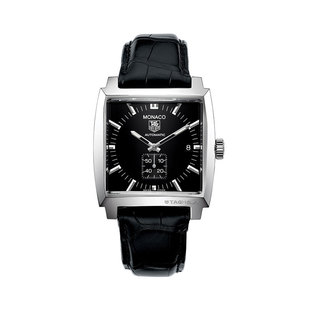 TAG Heuer Gents stainless steel Monaco date watch