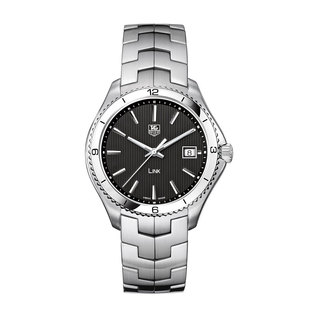 TAG Heuer Gents stainless steel Link quartz, date watch
