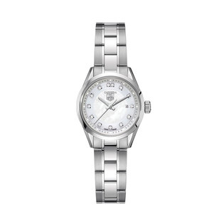 TAG Heuer Ladies stainless steel Carrera quartz date watch