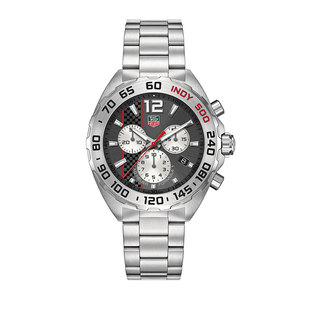 "TAG Heuer Gents stainless steel Formula 1 Quartz ""Indy 500"" watch"