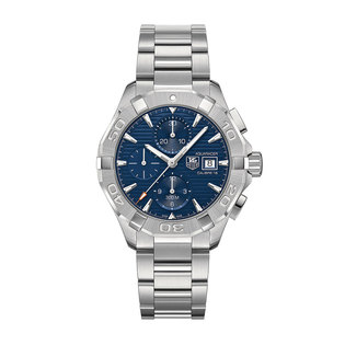 TAG Heuer Gents stainles steel automatic Aqua Racer chronograph watch