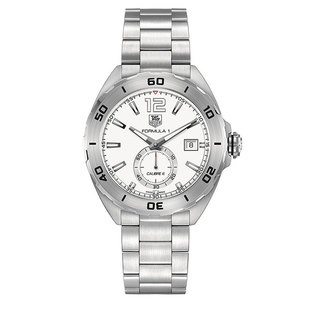 TAG Heuer Formula 1 automatic watch with white dial