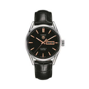 TAG Heuer Gents stainless steel Carrera automatic day date watch