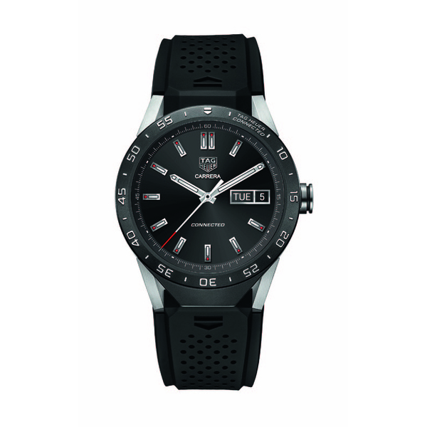 Gents Grade 2 Titanium Tag Heuer Connected 46mm Watch