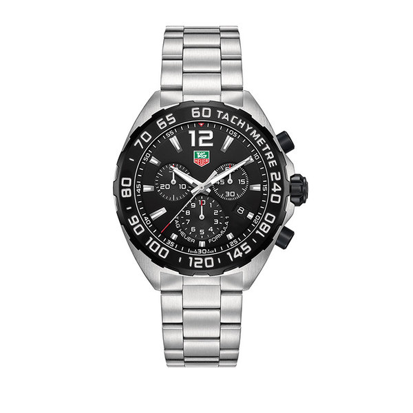 TAG Heuer Gents stainless steel formula 1 quartz chronograph  watch