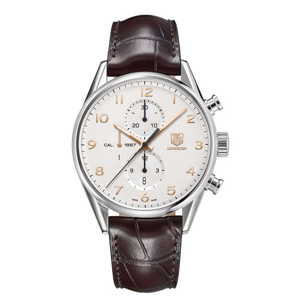 TAG Heuer Gents stainless steel Carrera automatic watch