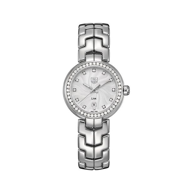 TAG Heuer Ladies stainless steel link quartz watch