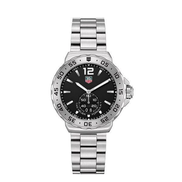 TAG Heuer Gents stainless steel and ceramic date watch
