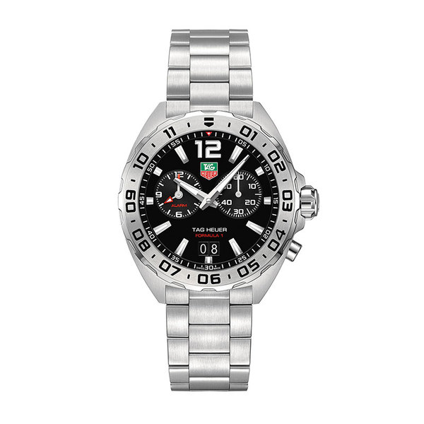 TAG Heuer Gents stainless steel Formula 1 date quartz watch