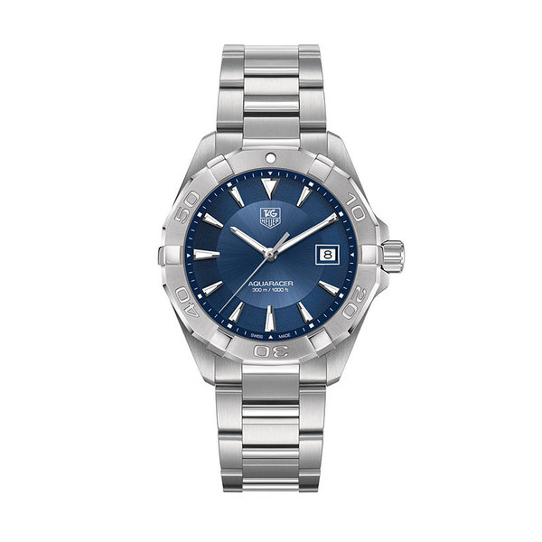 TAG Heuer Gents stainless steel Aqua Racer quartz watch