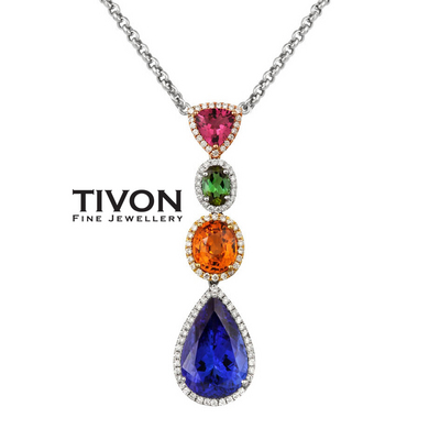 Couture Sunset Collection pendant