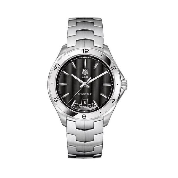 TAG Heuer Gents stainless steel Link automatic day/date watch